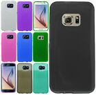 For Samsung Galaxy S6 CANDY Gel Flexi Skin Case Phone Cover Frosted Accessory