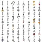 Hot Sell Silver Floating Charms Pendant1 Bead fit Bracelet Necklace DIY Jewelry