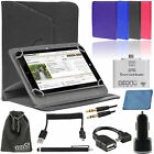 EEEKit for 8 inch Tab,Folio PU Leather Stand Case Cover+OTG+Car Charger+Stylus
