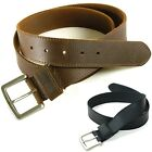 Timberland Mens Belt Genuine Leather Classic Casual Dress Metal Buckle 32-42 New