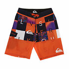 Quiksilver Checkmate Youth  Boys  Board Shorts - Checkmate Mandarin