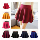 Cute Korean Fashion Women Ruffle Pleated Skirt High Waist Short Causal Dress