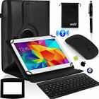 EEEKit Office Kit for 10 Inch Tab,Wireless Bluetooth Keyboard Mouse Case Cover