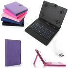 PU Leather Case Cover Micro USB Keyboard w / Stylus for 7'' 8'' 10'' inch Tablet