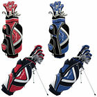 BEN SAYERS MENS M15 PACKAGE SET - NEW RIGHT HANDED GOLF CLUBS IRONS WOODS HYBRID