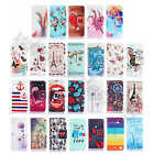 For Nokia Phones Various Designs Synthetic Leather Card Holder Wallet Case Cover