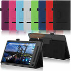 Folio PU Leather Stand Flip Smart Cover Case Skin for Dell Venue 8 7000 Tablet