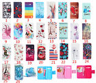 Newest Cute pattern wallet Flip Leather case cover for various Samsung Galaxy