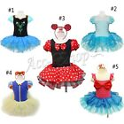 Baby Girls Minnie Mouse Mermaid Fancy Dress Up Kids Ballet Tutu Cosplay Clothing