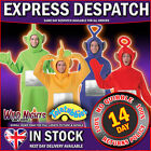 Teletubbies Adult Fancy Dress Costume Book Week Mens Ladies Tele Tubbies