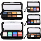 8 Colors Makeup Eyeshadow Palette Eye Shadow Kit Shimmer Natural Warm Cosmetic