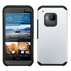 HTC One M9 (2015) Hybrid Dual Layer Fusion Case Hard Cover