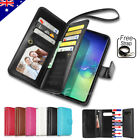 Flip Magnet Leather WALLET Case Cover for Samsung Galaxy S8 Plus S7 edge Note 8