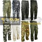 Camo Cargo Combat Army Pants Trousers Mens Military Special Ops Kit Airsoft New