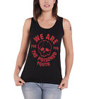 Fall Out Boy The Poisoned Youth Official Womens New Skinny Fit Vest
