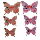 Fashion 3D Butterfly PVC Wall Art Sticker Stickers Home Wall Room Decorations LG