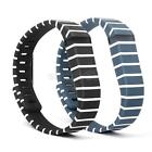 Stripes Replacement Wristband Bracelet 161-209MM with Clasps For Fitbit Flex L
