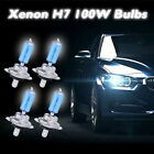 2/4/8x H7 XENON COOL WHITE 100W BULBS DIPPED BEAM 12V HEADLIGHT HID CAR LIGHT