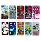For Samsung Popular Tide Synthetic Leather Credit Card Slot Magnet Case Cover#01