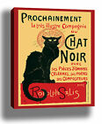 CHAT NOIR VINTAGE CAT QUALITY CANVAS POSTER PRINT STEINLEN CHOOSE SIZE/FRAME