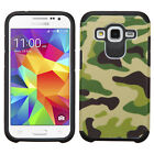 Samsung Galaxy Core Prime HARD Hybrid Rubber Silicone Case Phone Cover Accessory