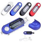 MP3 Music USB 8G Flash WMA Player LCD Screen FM Radio Voice Recorder +Earphone