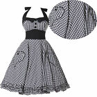 Vintage RETRO STYLE 1950s Rockabilly Swing Pinup FULL CIRCLE Party Prom Dresses