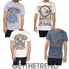 Mens Cargo Bay Graphic Print Tshirt Mens 100% Cotton Short Sleeve Holiday Top