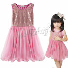 Toddler Girls gorgeous Dress Kid Baby Sequined Princess Tulle Tutu Party Dresses