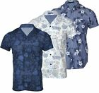 New Mens Fashion Hawaiian Shirt Chelsea Short Sleeve Casual 100% Cotton