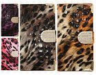 For Samsung Galaxy S6 EDGE Crocodile Leopard Leather Wallet Case Flip Cover