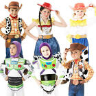 Toy Story Kids Fancy Dress Disney Movie Characters Girls Boys Childrens Costume