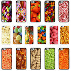Sweets Food Snacks Case Cover for Apple iPhone 4 4s 5 5s 6 6 Plus - 04