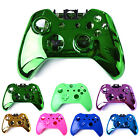 Chrome Matte Shell Case Kit Set With Buttons for Xbox One Wireless Controller