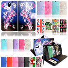Printed Leather Wallet Flip Case Cover Book For HTC Desire Phone With Stylus