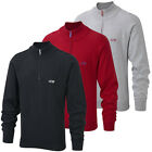Cypress Point 2015 Mens Half Zip Knitted Cotton Golf Sweater Classic Pullover