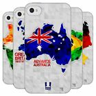 HEAD CASE GEOMETRIC MAPS SILICONE GEL CASE FOR APPLE iPHONE 4S