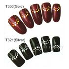 Nail Art Water Transfers Decals Stickers Simple Necklace Pattern #T303/321