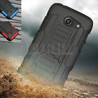 Rugged Armor Hybrid Hard Holster Case Cover For Huawei Tribute Fusion 3 Y536A1