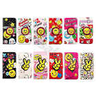 For Various Phones Lovely Smile Flip Card Wallet Stand PU Leather Case Cover #A1