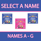 PERSONALISED EDUCATIONAL SONGS AND STORIES FOR KIDS CD *NAMES A - G* NEW