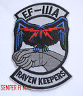 EF-111A RAVEN HAT PATCH RAVEN KEEPERS US AIR FORCE PIN UP PILOT CREW WING GIFT