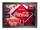 Coca-Cola 1 Logos Old Bottles Vintage Cool Amazing Family Time Poster Drink £8.99  on eBay