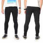 Mens Football Basketball Training Sweat Skinny Pants Casual Trousers Black S M L