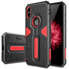 For Apple iPhone XS Max/XR/XS/X/8/7 6s Plus Tough Shockproof Armor Hybrid Case