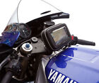 "Fork Stem Motorcycle Mount with Water Resistant Case for up to 5"" Garmin Nuvi"