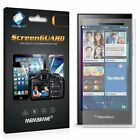 3 Pack Clear Front Anti Scratch Screen Cover For Blackberry Leap