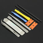10Pcs Repair Opening Pry Tool Set Spudger Tweezer Nylon Plastic Opener Blade Kit