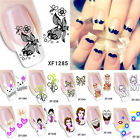 Cute 3D Mixed Design Decal Stickers Nail Art Beauty Manicure Tips DIY Decoration