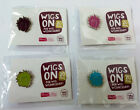 CLIC Sargent Wig Wednesday Charity Pin Badge Plum, Fuchsia, Green or Blue - WAR